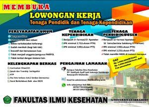 Lowongan Dosen: Farmasi Universitas Ibrahimy