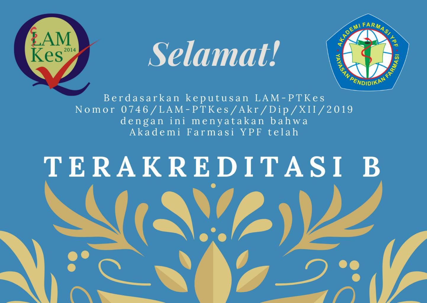 Lowongan Dosen: Akademi Farmasi YPF Kota Bandung